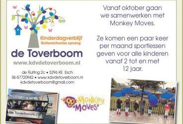 Wij werken samen met Monkey Moves